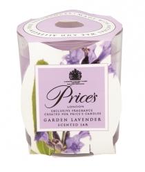 Price's Candles zapachowa świeca w słoiczku GARDEN LAVENDER