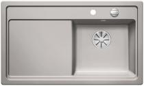 BLANCO ZENAR 45 S prawa szarość aluminium z korkiem InFino
