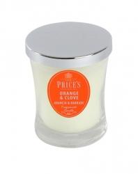 Price's Candles zapachowa świeca w słoiczku - średnia ORANGE & CLOVE