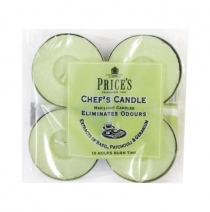 Price's Candles tealighty zapachowe CHEF'S CANDLE duże