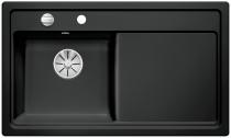 BLANCO ZENAR 45 S lewa czarny z korkiem InFino