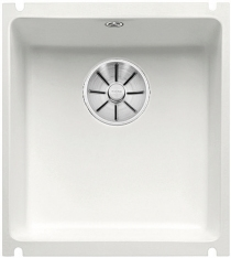 BLANCO SUBLINE 375-U Ceramika PuraPlus biały mat z korkiem InFino