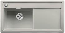 BLANCO ZENAR XL 6 S Silgranit PuraDur perłowoszary lewa komora z korkiem InFino i korkiem automatycznym