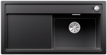 BLANCO ZENAR XL 6 S Silgranit PuraDur antracyt prawa komora z korkiem InFino i korkiem automatycznym