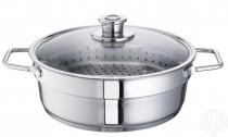 Schulte-Ufer Wega Garnek do gotowania na parze Aroma Steamer 30 cm około 6,5l 00133-30