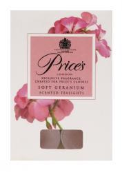 Price's Candles tealighty zapachowe SOFT GERANIUM