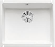 BLANCO SUBLINE 500-U ceramika PuraPlus biały połysk z korkiem InFino