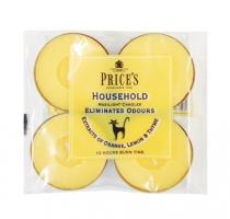 Price's Candles tealighty zapachowe HOUSEHOLD duże