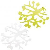 Kratka do aranżacji bukietów 2 szt biało zielona Bloomi KZ-2829002