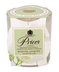 Price's Candles zapachowa świeca w słoiczku WINTER JASMINE
