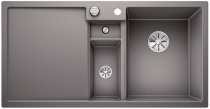 BLANCO COLLECTIS 6 S Silgranit PuraDur alumetalik z pojemnikiem, korkami In-Fino i korkiem aut.