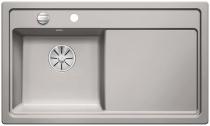 BLANCO ZENAR 45 S lewa szarość aluminium z korkiem InFino