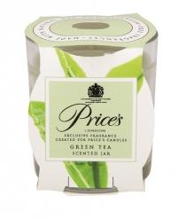 Price's Candles zapachowa świeca w słoiczku GREEN TEA