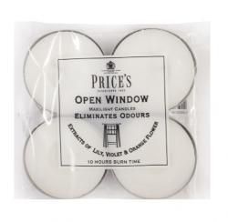 Price's Candles tealighty zapachowe OPEN WINDOW duże