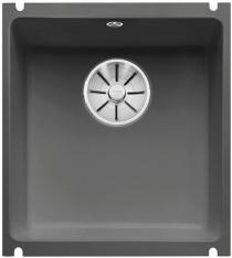 BLANCO SUBLINE 375-U Ceramika PuraPlus bazaltowy z korkiem InFino