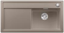 BLANCO ZENAR XL 6 S Silgranit PuraDur tartufo prawa komora z korkiem InFino i korkiem automatycznym