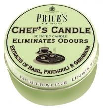 Price's Candles tealighty zapachowe CHEF'S CANDLE duże w puszce
