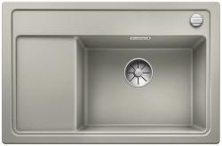 BLANCO ZENAR XL 6 S Compact Silgranit PuraDur perłowoszary prawa komora z korkiem InFino i korkiem automatycznym