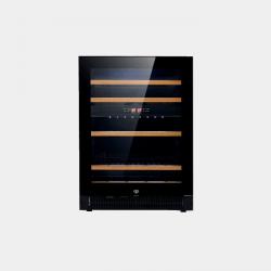 VESTFROST WFG45 Black glass door/black sides