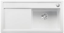 BLANCO ZENAR XL 6 S Silgranit PuraDur biały prawa komora z korkiem InFino i korkiem automatycznym