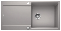 BLANCO IDENTO XL 6 S-F szarość aluminium
