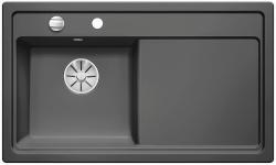 BLANCO ZENAR 45 S lewa bazaltowy z korkiem InFino