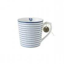 Laura Ashley kubek porcelanowy W178240 Candy Stripe 0,32 l.