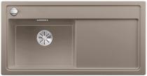 BLANCO ZENAR XL 6 S Silgranit PuraDur tartufo lewa komora z korkiem InFino i korkiem automatycznym