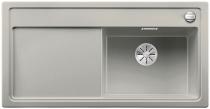 BLANCO ZENAR XL 6 S Silgranit PuraDur perłowoszary prawa komora z korkiem InFino i korkiem automatycznym