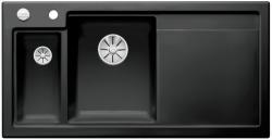 BLANCO AXON II 6 S lewa czarny z korkiem InFino