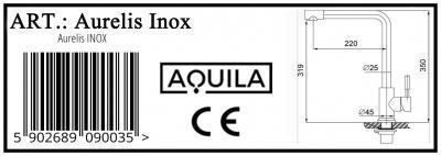 Aquila Aurelis inox