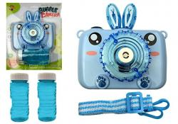 Aparat puszcza Bańki mydlane na Baterie Niebieski