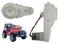 Silnik + Przekładnia 12V 11000RPM do pojazdu HP012