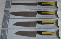 SHIKISAI uFLEX komplet 4 noży - kolor żółty - dostawa gratis
