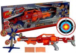 Karabin Pistolet na strzałki z Obrotowym Celem