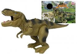 Dinozaur Tyranozaur Rex Na Baterie Zielony