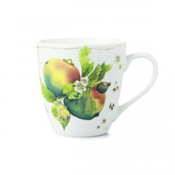 """Marjolein Bastin Kubek porcelanowy XL 176300 """"owoce - śliwka"""""""