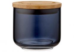 Ladelle Stak Glass Midnight pojemnik do przechowywania żywności 9 cm L61347
