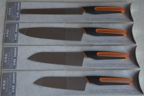 SHIKISAI uFLEX komplet 4 noży - kolor pomarańczowy - dostawa gratis