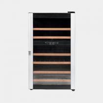 VESTFROST W 32 Silver door/black sides