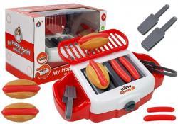 Zabawkowy Grill do Hot Dogów na baterie BBQ