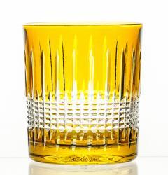 Szklanki kolorowe kryształowe do whisky 6 sztuk