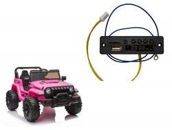 Panel muzyczny do auta na akumulator CH9956