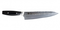 YAXELL YO-U 37 Damascus Hammered VG10 Chef 210mm