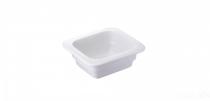 GastroSUS Cellana pojemnik porcelanowy GN 1/6 17,6 x 16,2 x 6,5 cm około 0,60 l 167120-16-65