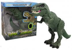Dinozaur na baterie Tyranozaur Rex Chodzi Świeci