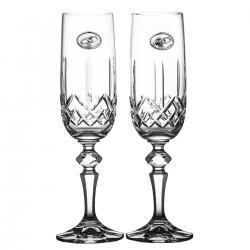 Kieliszki ślubne do szampana kryształ 2 sztuki 6557