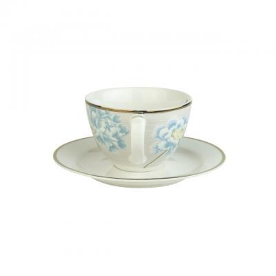 Laura Ashley Heritage filiżanka do cappuccino W181229 Cobblestone Pinstr