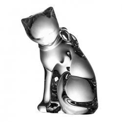 Figurka kryształowa kot kryształ (06023)