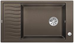 BLANCO ELON XL 8 S Silgranit PuraDur Kawowy odwracalny, korek auto., InFino, kratka ociekowa